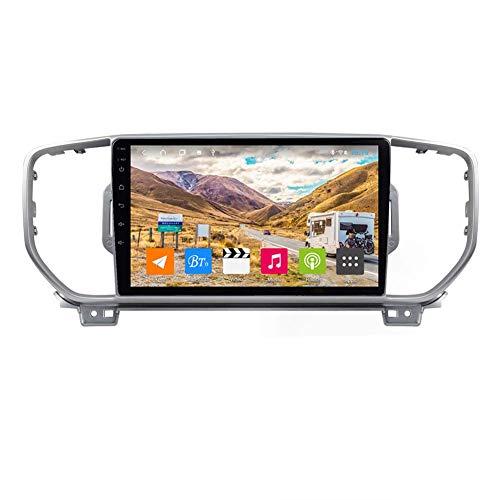Android Autoradio Radio Doppio Din Sat Nav per Kia Sportage KX5 2016-2018 Navigazione GPS da 9 pollici Touch Screen Lettore multimediale Ricevitore video con 4G DSP Carplay