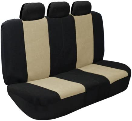 Premium Fabric Full Set Airbag Compatible Gray FH Group FB107GRAY115 Seat Cover