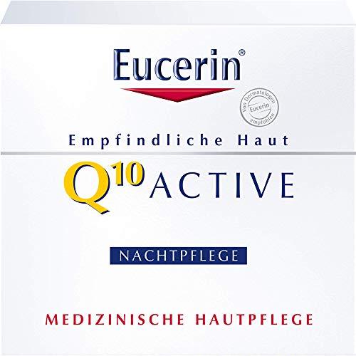 Eucerin Q10 Active Anti-Falten Nachtpflege Creme, 50 ml Crema