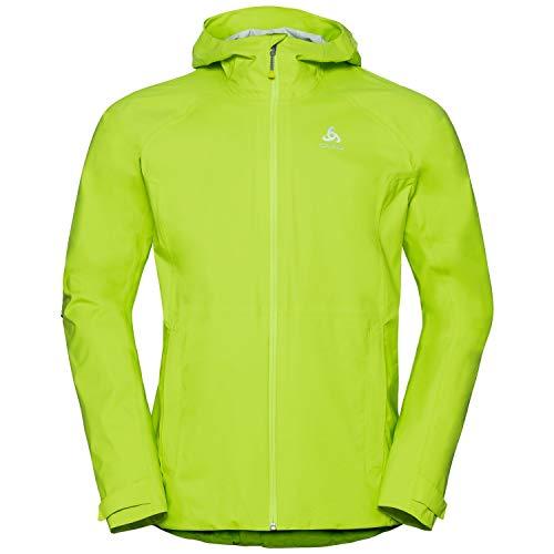 Odlo Blouson AEGIS Veste imperméable Homme, Acid Lime, FR (Taille Fabricant : XL)