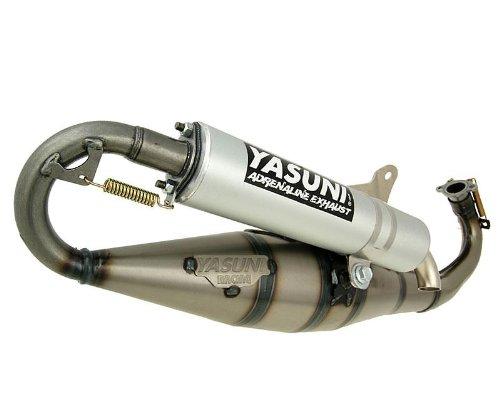 Auspuff YASUNI Carrera C16 Alu für Liberty 50cc, NRG, Storm, TPH, X, Zip 2 Cat, SP, Base