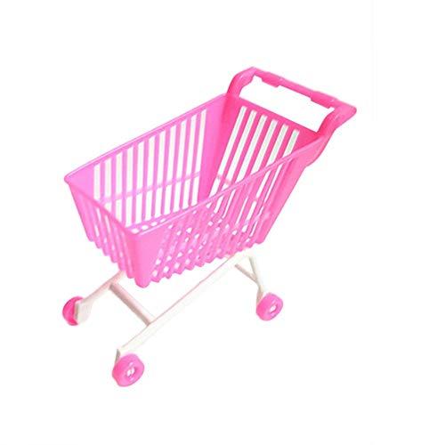 N-K Premium Qualität Einkaufswagen für Puppe Classic Toys Trolleys Kinder Mädchen Jungen Geburtstagsgeschenk Zufällige Farbe