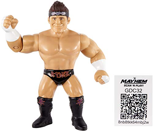 WWE Retro App Zack Ryder Figur Serie 8 4.5