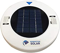Remington Solar Chlorine-Free Sun Shock & Water Purifier – Reduces Chlorine Usage by up to 80-Percent – Solar Powered Pool Clarifier - Automatic Pool Cleaner & Pool Ionizer for All Pools