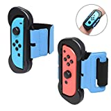 FYOUNG - 2 Pack Dance Band per Just Dance 2021 2020 2019 Nintendo Switch, per Just Dance, braccialetto elastico regolabile con spazio per Joy-Cons sinistra e destra per adulti e bambini