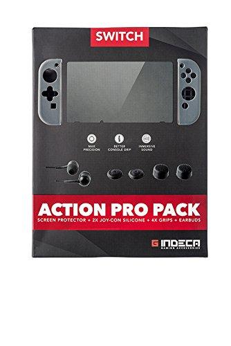 Indeca Gaming- Action Pro Pack - Pack de proteccion con accesorios para...