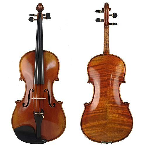 LOIKHGV 15,5 '' 16,5 & quot;Viola Cremonese 1716 Modell mit Canvas Case und Brazil Bow, 16,5 Zoll