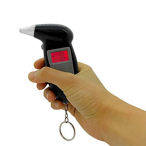 アルコール呼気チェッカー 小型 ブレスチェッカー 酒気帯び運転対策に 簡単操作 アルコールテスター アルコール検知器 取替キャップ付き