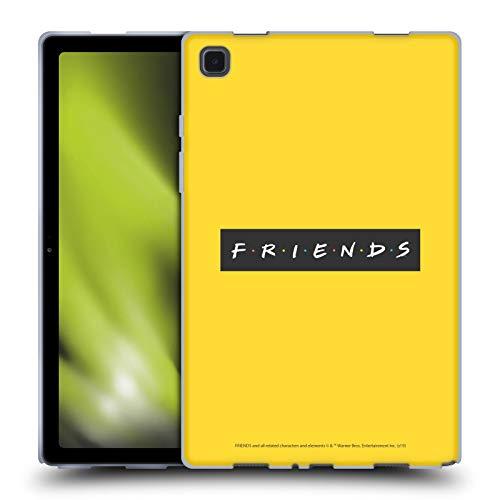 Head Case Designs Licenciado Oficialmente Friends TV Show Patrón Logotipos Carcasa de Gel de Silicona Compatible con Galaxy Tab A7 10.4 (2020)
