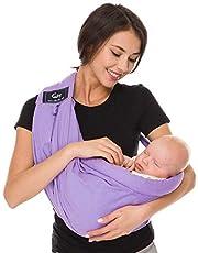CUBY ベビースリング ベビーキャリア 抱っこひも 新生児 片肩 説明書あり 日本正規品(国内安全基準適合品)