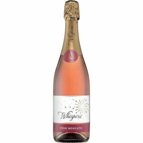 三国ワイン ウィスパーズ スパークリング ピンクモスカート ロゼ 750ml
