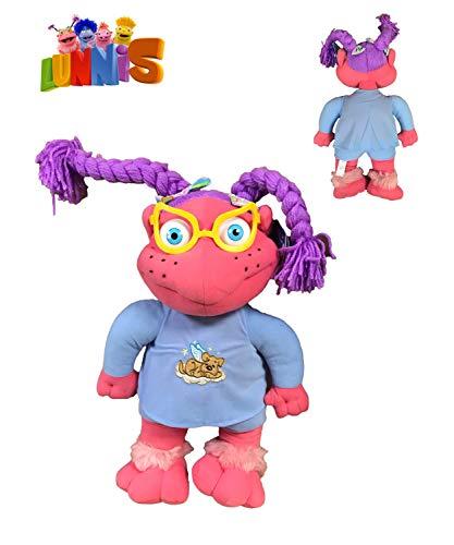 Lunnis - Peluche Lupita en pijama 17