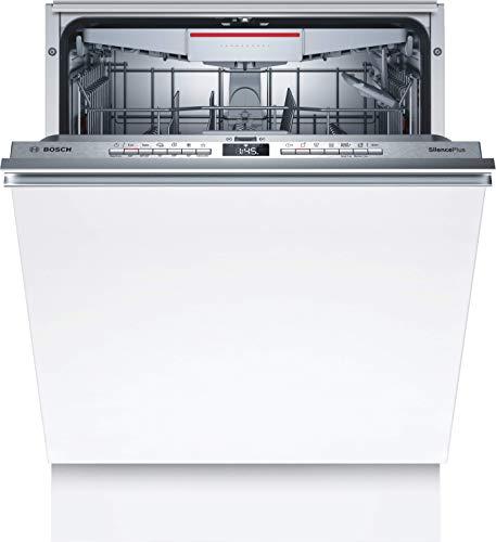 Bosch SMH4HCX48E Serie 4 Lavavajillas totalmente integrado, D, 60 cm, 85 kWh/100 ciclos, 14 MGD, SuperSilence, secado extra, cajón Vario, Home Connect.