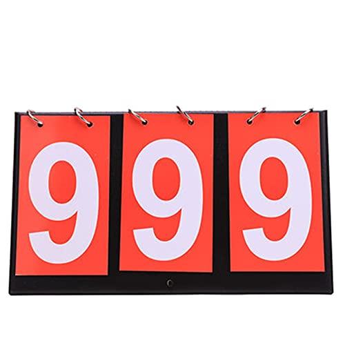BaoYPP Deportivo Marcador El Marcador de Baloncesto se Puede convertir hasta 3 dígitos del Juego de la Tabla de puntuación de la Placa de puntuación del Juego Gran Aplicación
