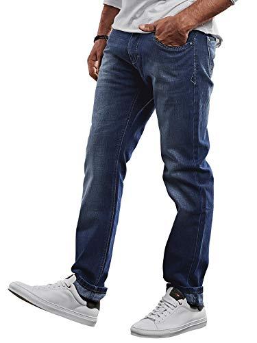 emilio adani Herren Sportive Jeans, 26975, Blau in Größe 34/34