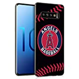 Phone Case for Samsung Galaxy S10 Plus 6.4',Baseball Game Sports Thin Plastic Full Protection Matte Finish Grip Phone Cover Case for Galaxy S10+ Plus Black, Sep2 043