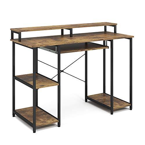 Vicco Computertisch Schreibtisch Bürotisch Fyrk 120x50cm Arbeitstisch PC-Tisch