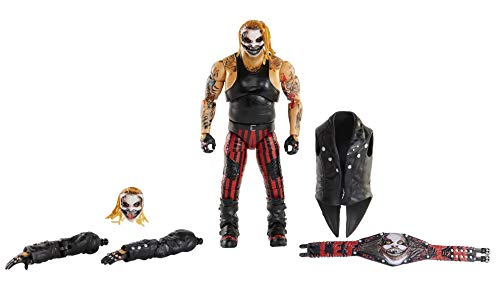 WWE Ultimate Edition The Fiend Bray Wyatt Action Figure, 6-in / 15.24-cm, with Interchangeable Entrance Jacket, Lantern, Extra Head & Swappable Hands for Ages 8 Years Old & Up