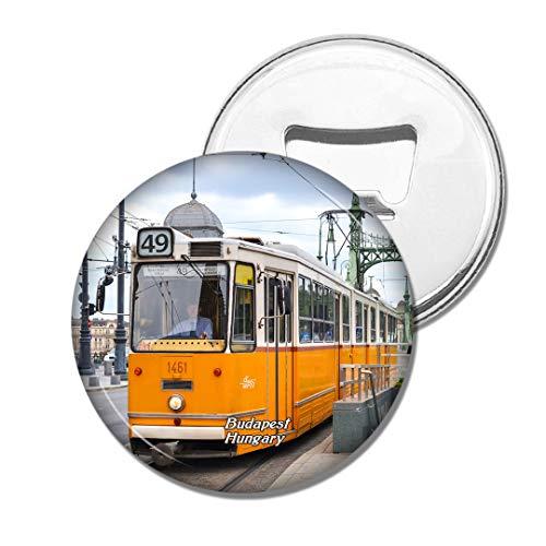 Weekino Ungarn Straßenbahnverkehr Budapest Bier Flaschenöffner Kühlschrank Magnet Metall Souvenir Reise Gift