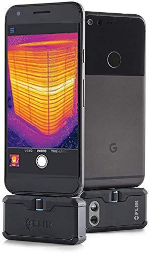 FLIR ONE PRO LT Módulo de cámara de escaneo térmico para dispositivos Android con conector USB-C, medición de temperatura de hasta 120 °C (248 °F)