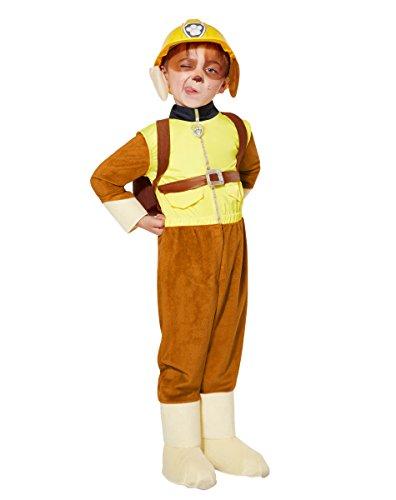 Spirit Halloween Toddler Rubble Costume Deluxe - Paw Patrol, 5-6T