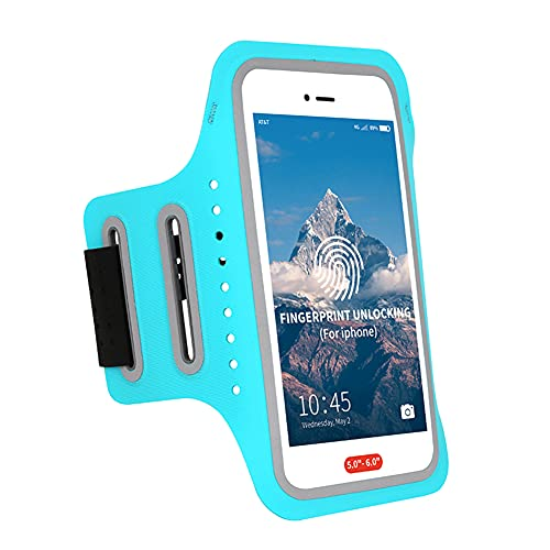 Iswell elástico Resistente al teléfono Celular Brazalete de la Caja de la Pantalla de la Pantalla Completa para iPhone Pro MAX Plus Mini SE Galaxy S Ultra Plus Lite Edge Note Strap Ajustable