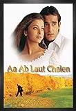 1art1 Bollywood Poster und MDF-Rahmen - AA Ab Laut Chalen