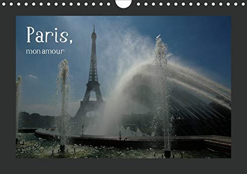 Paris, mon amour (Wandkalender 2020 DIN A4 quer): Kalender mit Motiven aus Paris (Monatskalender, 14 Seiten ) (CALVENDO Orte)