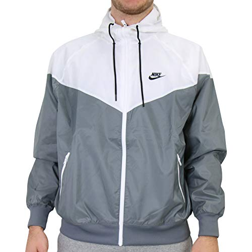 Nike Spe Wooven Lnd Wr Hd Giacca smoke grey/white/smoke grey/bl S