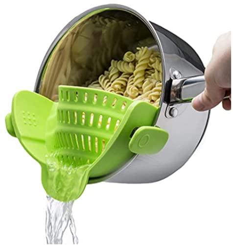 Clip On Pasta Strainer
