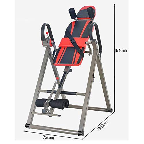MASODHDFX Handstand Maschine Inversion Therapietisch Klimmzugstange & Barren Rückenstrecker Maschine Fitnessgeräte
