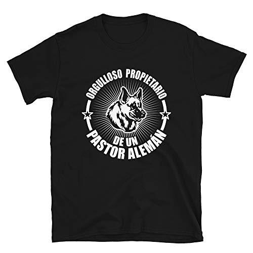 Edition limitée merch Camiseta de Perritos y Perros Pastor Alemán. Hombre Camisa Regalo Pastor Alsaciano