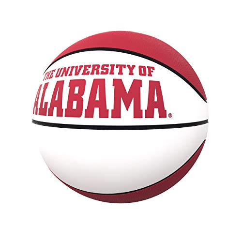 Logo Brands NCAA Alabama Crimson Tide Unisex Official-Size Autograph Basketball, Team Color