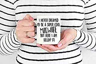 Funny Midwife Coffee Mug, at Your Cervix Mug, Midwife Mug, Midwife, Doula Gift, Funny Midwife Mug, OBGYN Gift, OBGYN Mug, Gift for Midwife Tea Cup Mugs for Men Women Home Office, 11 oz, White