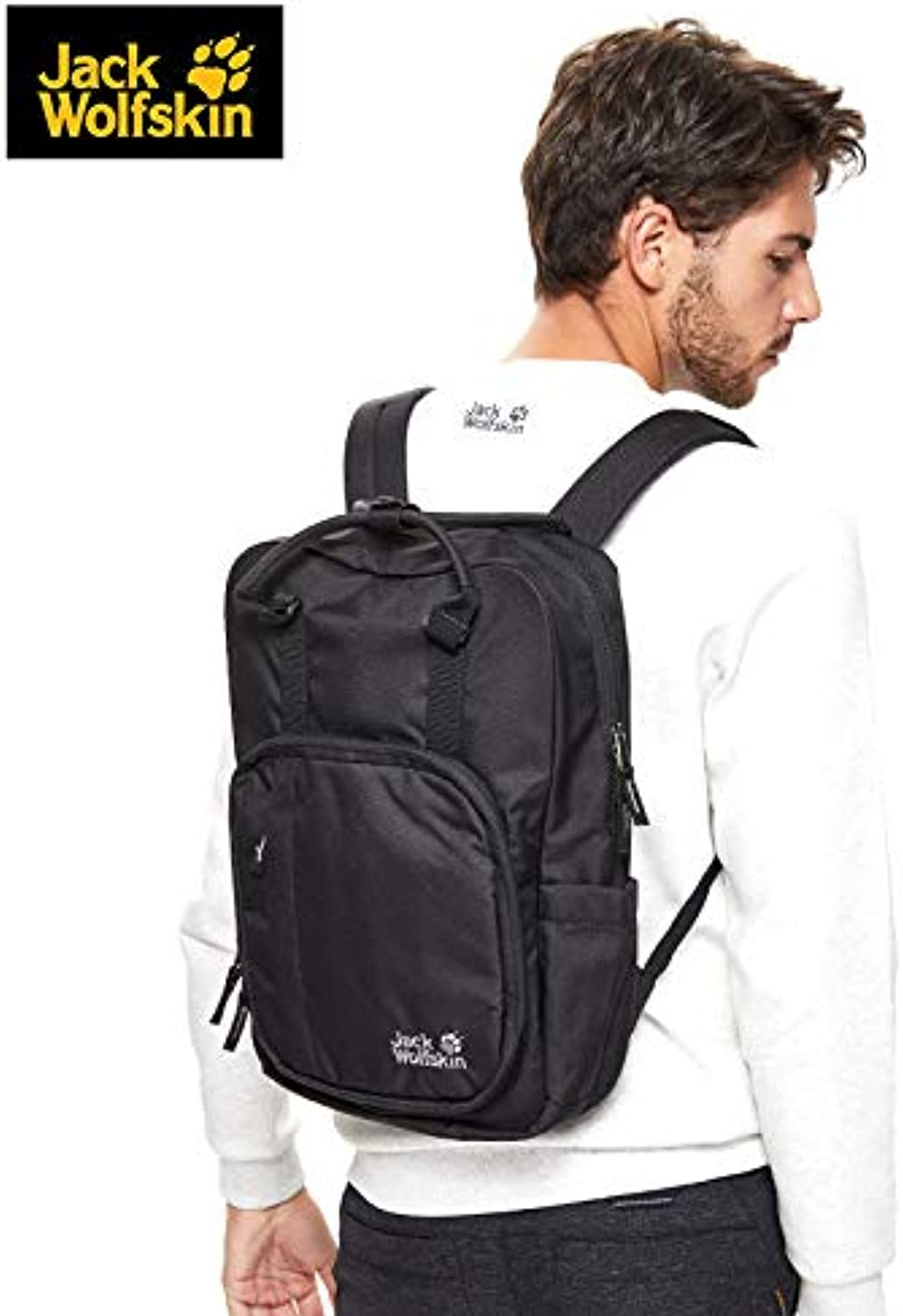 JackWolfskin Wolf Paw Outdoor Comfortable and Practical Leisure 16L Neutral Daily Backpack 2007121
