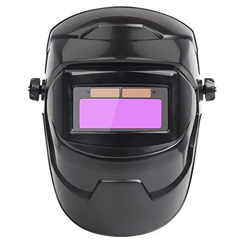 H HILABEE Oscurecimiento Automático Solar Casco de Soldadura Gorra de Soldador Lente Protector de Ojos Gafas