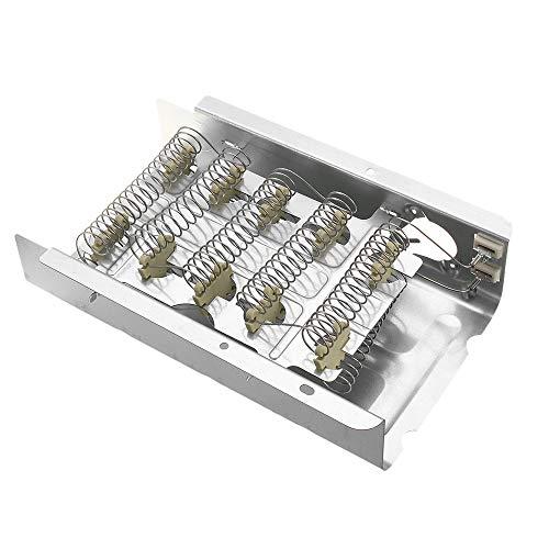 HELEISH 279838 Kit de elemento de calefacción y termostato del secador 3392519 para Whirlpool Kenmore Herramienta accesoria