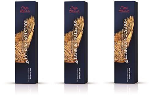 Wella Koleston Perfect Me+ KP Rich Naturals 9/1 Lot de 3 paquets de 3 Blond cendré clair