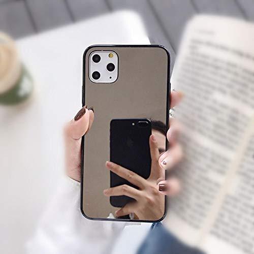 AAA&LIU Lovely Heart Kickstand Phone Cover Case para iPhone 11 Pro XS MAX XR X 8 7 6 6S Plus Glitter Mirror Cases Coque para iPhone 11 Pro, F, para iPhone 6
