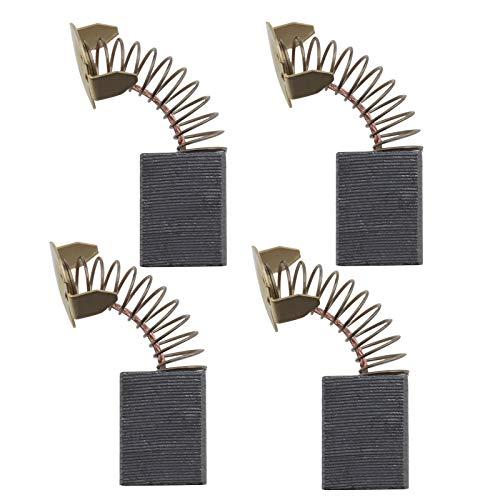 2 pares de cepillos de carbono CB153 de 6,5 x 13,5 x 16 mm compatibles con Makita 1805B 1806B 2400B 2414 LH1040 Sierra Circular Repuesto