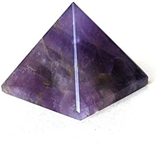 Healing Crystals P0689 - Piedra natural de la India con amatista, espiritual, cargada de energía (25-30 mm), color morado,...