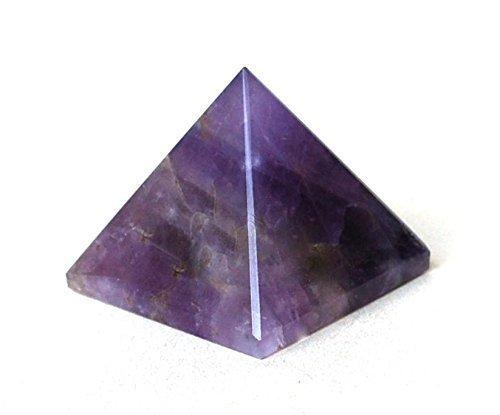 Healing Crystals India P0689 Spirituelle Pyramide (25-30 mm), Violett, 1 Stück