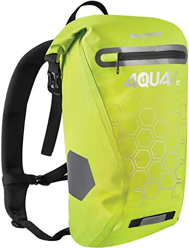 Oxford Unisex OL693 Aqua V Rucksack, 12 l, Fluo Yellow, 12 Liter