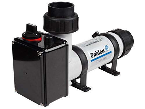 pahlen eléctrico Calefactor de plástico/Titan 9 kW – No