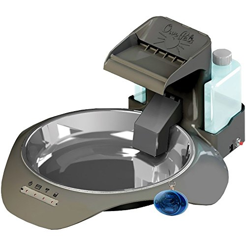 Our Pets SmartLink Waterer Intelligent Water Fountain, Bluetooth Health Monitoring Pet Automatic Waterer