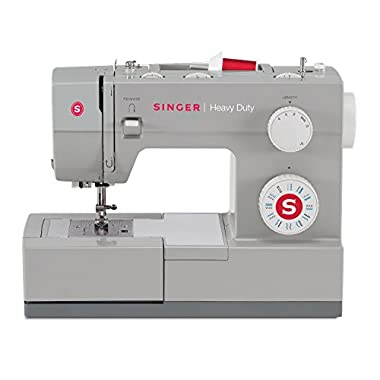 Singer | Heavy Duty 4423 Sewing Machine 23 Built-In Stitches -12 Decorative Stitches, 60% Stronger Motor & Automatic Needle Threader, Perfect Sewing all Types Fabrics Ease