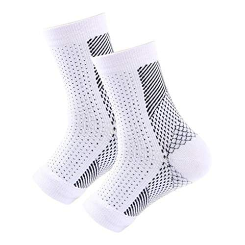 MAZS Unisex Anti-fatigue Sports Compression Foot Ankle Sleeve Brace Socks Elastic Bandage Foot Protective Gear Gym Fitness