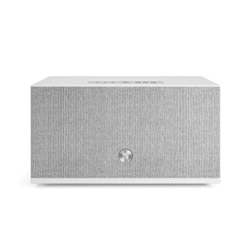 Altavoz Inalámbrico Multisala con Conexión Bluetooth y WiFi - Speaker Multiroom Potente y Portátil Compatible con AirPlay 2 y Google Cast - Audio Pro Addon C10 MKII - Blanco