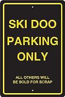 スキー場駐車場標識金属標識通知サイン