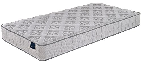 "Dalkang Home Life Tranquility Sleep 10"" Pocket Spring Luxury Mattress, Full, White"